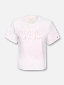 League Texas Tech Red Raiders Script Crop Top T-Shirt