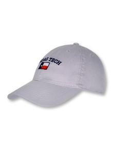 Legacy Texas Tech Arch over Texas Flag Adjustable Cap