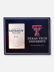 "Legacy Texas Tech Red Raiders Texas Tech 4"" x 6"" Vertical Photo Frame"