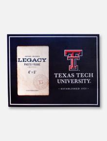 """Legacy Texas Tech Red Raiders Texas Tech 4"""" x 6"""" Vertical Photo Frame"""