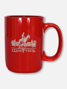 Texas Tech Red Raiders Texas Tech Etched Grande Coffee Mug