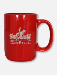 Texas Tech Red Raiders Texas Tech Etched Grande Coffee Mug