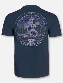 Texas Tech Red Raiders Road Less Traveled T-Shirt