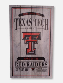 Legacy Texas Tech Red Raiders Texas Tech Vintage Sign Wall Decor