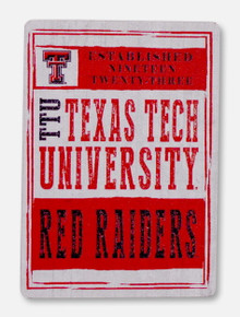 Legacy Texas Tech Red Raiders Texas Tech Word Collage Magnet