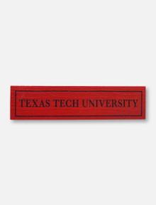 Legacy Texas Tech Red Raiders Texas Tech University Magnet