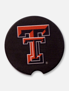 Texas Tech Red Raiders Single Pack Double T Ceramic Car Coasters