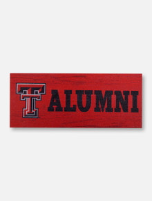 Legacy Texas Tech Red Raiders Double T Texas Tech Wooden Block Decor
