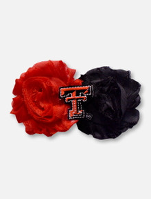 Texas Tech Red Raiders UnFRAY gettable Flower Hairclip