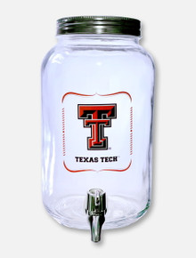 Duckhouse Texas Tech Red Raiders Texas Tech 3 Liter Drink Dispenser Glass Jar
