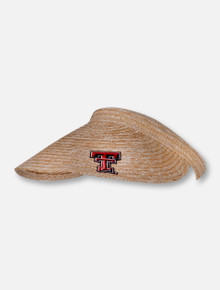 "LogoFit Texas Tech Red Raiders ""Betty"" Straw Clip Visor"