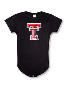 Summit Texas Tech Red Raiders Glitter Double T INFANT Onesie