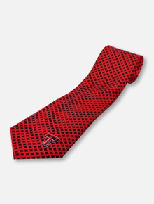 Eagles Wings Texas Tech Red Raiders Diamante Tie