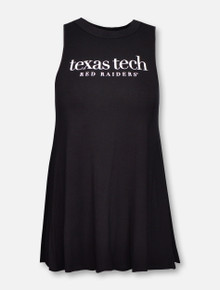 Summit Texas Tech Red Raiders with White Bow on Back Tank Top