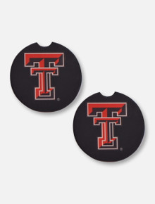Texas Tech Red Raiders Two Pack Double T Ceramic Car Coasters