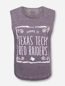 "Pressbox Texas Tech Red Raiders ""Ruffy"" Tank Top"