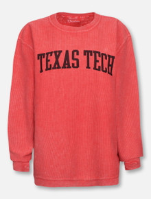 "Pressbox Texas Tech Red Raiders ""Undetermined"" Corduroy Long Sleeve Tee"