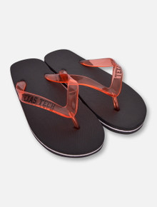 "Texas Tech Double ""Capistrano"" Flip Flops"