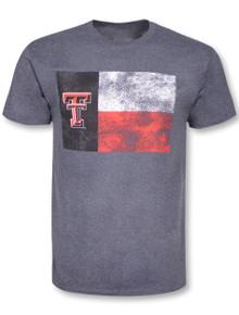 Texas Tech Red Raiders Distressed Tech Flag T-Shirt