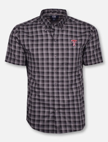"Cutter & Buck Texas Tech Red Raiders ""Fremont Check"" Polo"