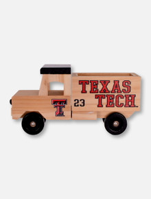 Texas Tech Red Raiders Wooden Truck