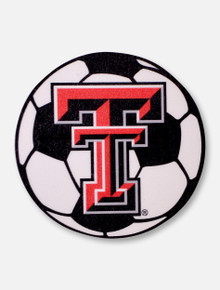 Texas Tech Red Raiders Double T Soccer Decal