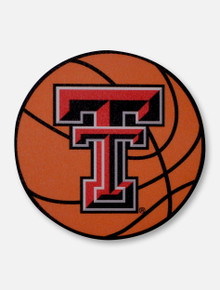 Texas Tech Red Raiders Double T Basketball Decal