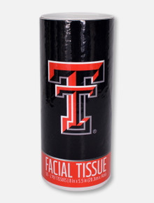 Texas Tech Red Raiders Double T 50 Count 2 Ply Facial Tissue