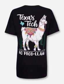 Texas Tech Red Raiders No Problem Llama T-Shirt