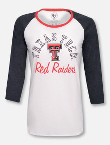 "47 Brand Texas Tech Red Raiders ""Splitter"" Raglan"