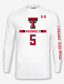 Under Armour Texas Tech NFL Mahomes II Longsleeve Tee