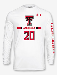 Under Armour Texas Tech NFL Amendola Longsleeve Tee