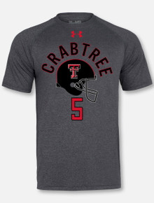 Under Armour Texas Tech NFL Crabtree Performance Tee