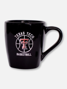 Texas Tech Red Raiders Double T Basketball Coffee Mug