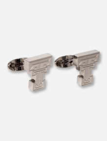 Texas Tech C-Note Double T Stainless Steel Cuff Links