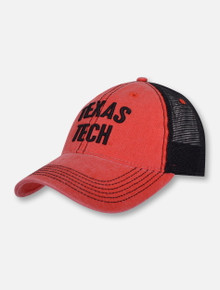 "Legacy Texas Tech Red Raiders Stack ""The Reason"" Mesh Trucker Snapback Cap"