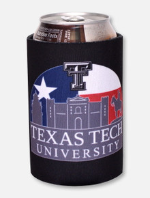 """Texas Tech Red Raiders """"Texas Sunset"""" Can Cooler"""