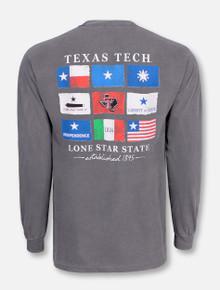 Texas Tech Red Raiders Flags of Texas Long Sleeve Shirt