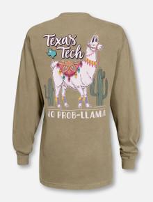 Texas Tech Red Raiders No Problem Llama Long Sleeve Shirt