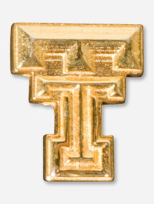 Texas Tech DaynaU Double T Gold Pin