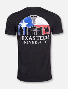 Texas Tech Red Raiders Sunset T-Shirt