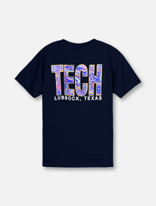 "Texas Tech Red Raiders ""Fortune Teller"" TECH block YOUTH T-Shirt"