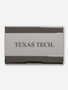 Texas Tech on Carbon Fiber Business Card Holder
