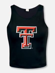 "ZooZat Texas Tech Red Raiders ""FIrst Down"" Crop Top"