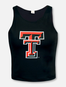 "ZooZat Texas Tech Red Raiders ""First Down"" Crop Top"