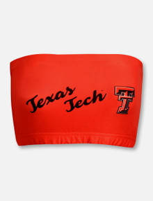 "ZooZat Texas Tech Red Raiders ""Team Crew"" Bandeau Top"