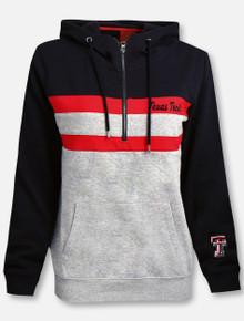 """Arena Texas Tech Red Raiders """"Play the Game"""" 1/4 Zip Hoodie"""
