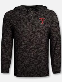 "Arena Texas Tech Red Raiders ""Crawfish Dinner"" Hooded Long Sleeve T-Shirt"