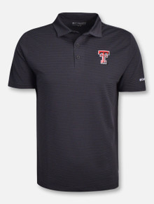 "Columbia Omni-Wick Texas Tech Red Raiders ""One Swing"" Polo"