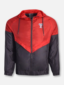 "Arena Texas Tech Red Raiders ""First Class"" Windbreaker Jacket"